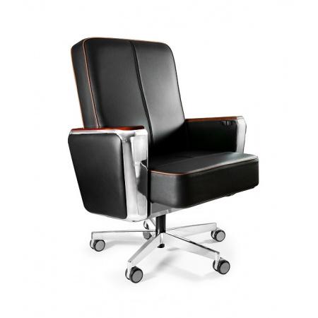 Unique Regent Low Fotel biurowy czarny 687B-FL-4