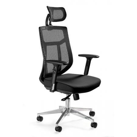 Unique Vista Fotel biurowy, czarny GM02-1H-4