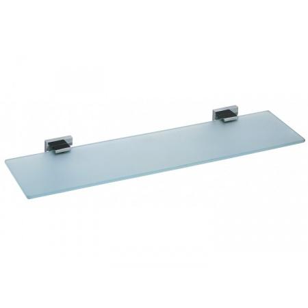 Vado Level Półka szklana 55x14 cm, chrom LEV-185-C/P