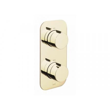 Vado Tablet Dwuuchwytowa bateria prysznicowa podtynkowa, złoto polerowane TAB-148/2-ALT-PG