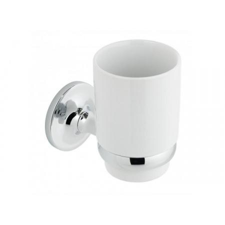 Vado Tournament Kubek ceramiczny z uchwytem, biały TOU-183A-C/P