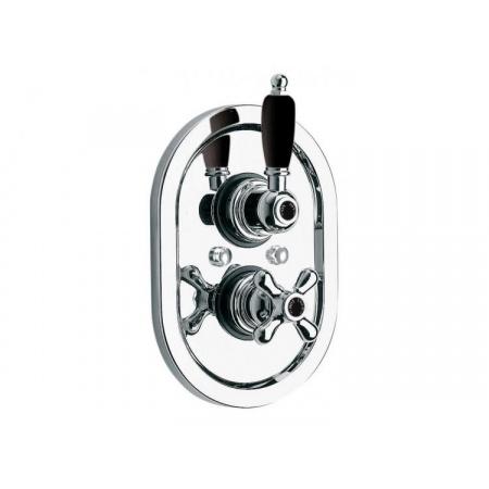Vado Westbury Dwuuchwytowa bateria prysznicowa podtynkowa, chrom WSB-248-3/4-C/P