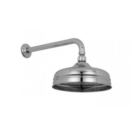 Vado Deszczownica okrągła 20 cm z ramieniem ściennym, chrom WG-16102A-C/P