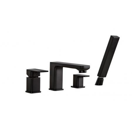 Valvex Loft Black Bateria wannowa 4-otworowa czarny mat 2455950
