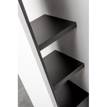 Vasco Niva Bath Akcesoria Wieszak i 3 półki do grzejnika 202 cm, biały S600 118380320200600