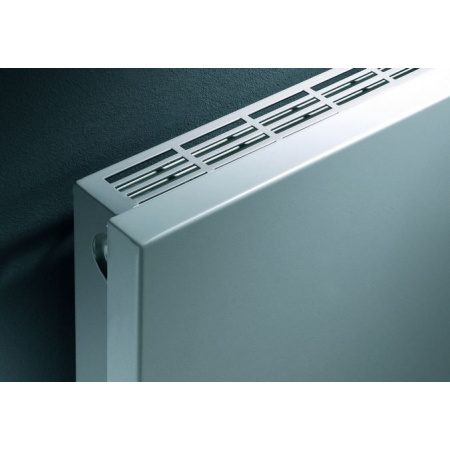 Vasco Niva NH1L1 Grzejnik dekoracyjny pojedynczy poziomy 1020x550 mm, biały S600 NH1L1POJEDYNCZY1020X550