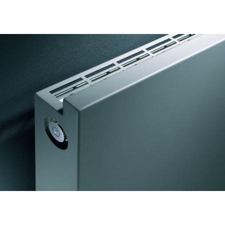 Vasco Niva NH1L1 Grzejnik dekoracyjny pojedynczy poziomy 650x1220 mm, biały S600 NH1L1POJEDYNCZY1220X650