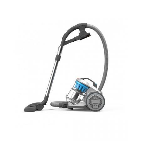 Vax Air Compact Pet Odkurzacz kompaktowy z technologią MULTICYCLONE z turboszczotką, srebrny/błękitny C85-AS-P-E
