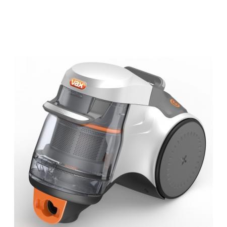 Vax Air Silence Parquett Odkurzacz do parkietów z technologią MULTICYCLONE ultra-cichy, pomarańczowy/szary C86-AS-H-E