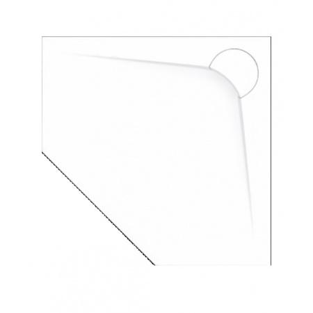 Vayer Boomerang Brodzik pięciokątny 90x90x3 cm, biały 090.090.002.2-7.0.0.0