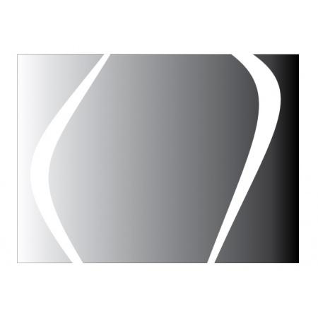 Vayer Boomerang Lustro prostokątne 120x85x5,4 cm podświetlane, 120.085.005.5-1.0.0.0