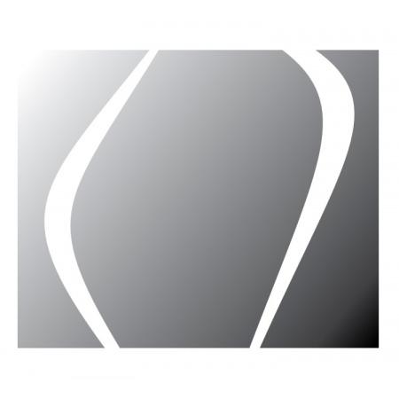 Vayer Boomerang Lustro prostokątne 85x70x16 cm podświetlane z szafką, 085.070.016.5-1.0.0.0