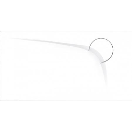Vayer Boomerang Umywalka wisząca lub meblowa 90x45 cm biała 090.045.005.3-1.0.1.0