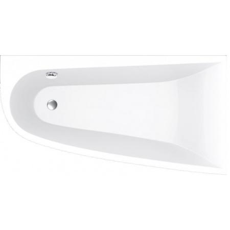 Vayer Boomerang Wanna asymetryczna 150x90 cm prawa, biała 150.090.045.1-2.2.0.0