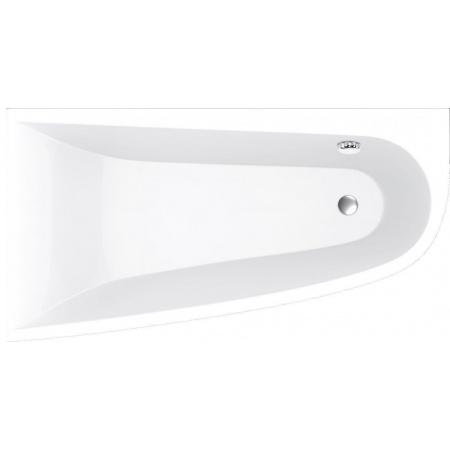 Vayer Boomerang Wanna asymetryczna 170x90 cm lewa, biała 170.090.045.1-2.1.0.0