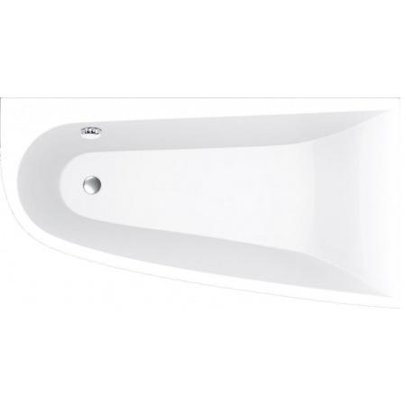 Vayer Boomerang Wanna asymetryczna 170x90 cm prawa, biała 170.090.045.1-2.2.0.0