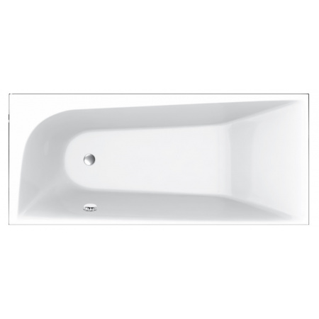 Vayer Boomerang Wanna prostokątna 190x90 cm prawa, biała 190.090.045.1-1.2.0.0
