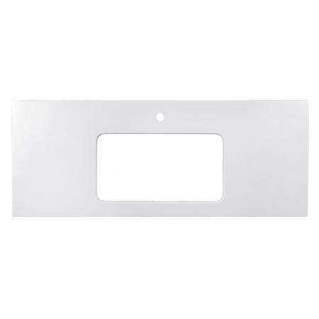 Vayer Citizen Octans-A Blat konglomeratowy 61,2x50 cm do umywalki Vela-A, biały 061.050.001.8-1.0.1.X.0