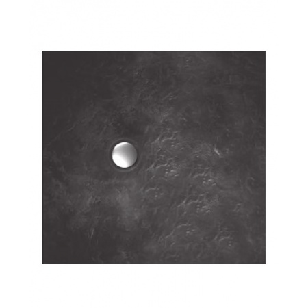 Vayer Citizen Taurus Brodzik kwadratowy 80x80x2,8 cm, grafitowy 080.080.001.2-6.0.0.0.0