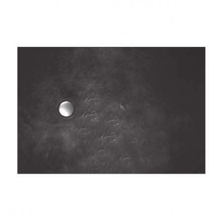 Vayer Citizen Taurus Brodzik prostokątny 140x80x2,8 cm, grafitowy 140.080.001.2-1.0.0.0.0