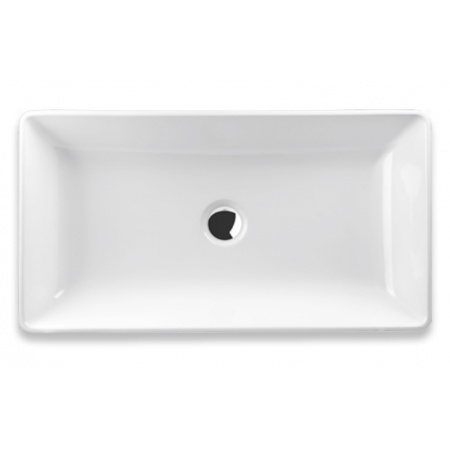 Vayer Citizen Vela-A Umywalka wpuszczana w blat 49x34 cm konglomeratowa, biała 049.034.010.3-1.0.1.0.0