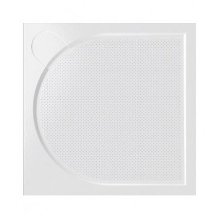 Vayer Citizen Virgo Brodzik kwadratowy 90x90x3 cm konglomeratowy, biały 090.090.001.2-6.0.0.0.0