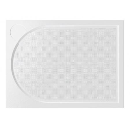 Vayer Citizen Virgo Brodzik prostokątny 90x80x3 cm konglomeratowy, biały 090.080.001.2-1.0.0.0.0
