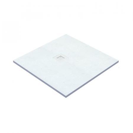 Vayer Kronos Brodzik kwadratowy 90x90x2,6 cm biały 090.090.000.2-6.0.0.0.0