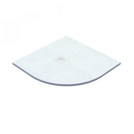 Vayer Kronos Brodzik półokrągły 90x90x2,6 cm biały 090.090.000.2-3.0.0.0.0