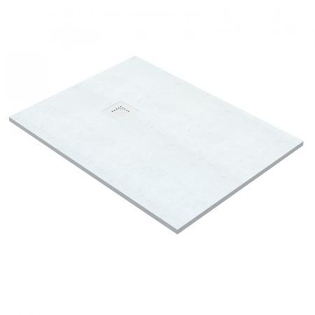 Vayer Kronos Brodzik prostokątny 100x80x2,6 cm biały 100.080.000.2-1.0.0.0.0