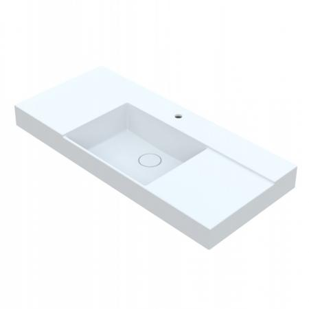 Vayer Libra Umywalka nablatowa 140,5x53,5 cm biała 140.053.015.3-1.0.1.1.0