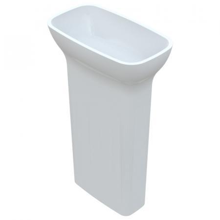Vayer Serpens Umywalka wolnostojąca 54x30,5 cm biała 054.030.087.3-4.0.3.0.0