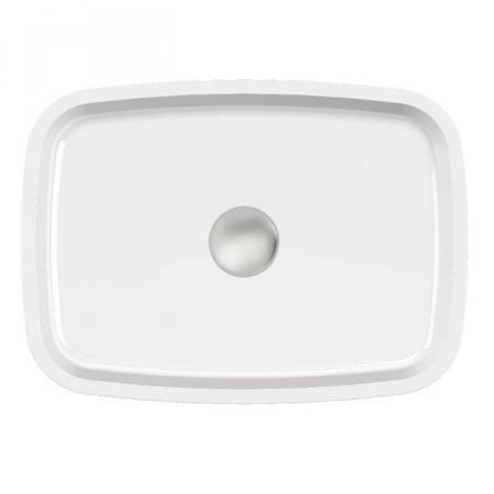 Vayer Volans Umywalka nablatowa niska 45x33 cm biała 045.033.012.3-4.0.1.0.0.01