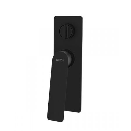 Vedo Desso Nero Jednouchwytowa bateria wannowo-prysznicowa podtynkowa 2-drożna, czarny mat VBD4016CZ