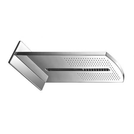 Vedo Deszczownica prostokątna 2-funkcyjna 23,5x60 cm chrom 6580