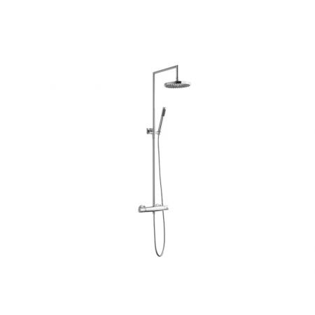 Vedo Rondo I Zestaw prysznicowy natynkowy z termostatem i deszczownicą chrom 15450