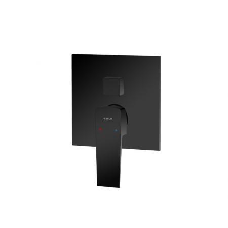 Vedo Sette Nero Bateria wannowo-prysznicowa podtynkowa 3-drożna czarny mat VBS7017CZ