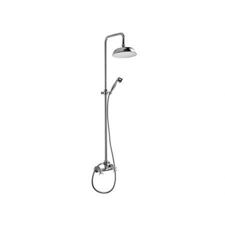 Vedo Victorian Zestaw prysznicowy z deszczownicą chrom 15311V/CH
