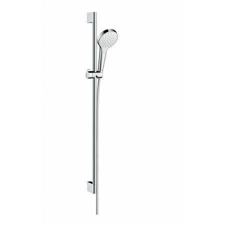 Hansgrohe Croma Select S Zestaw prysznicowy 90 cm chrom/biały 26574400
