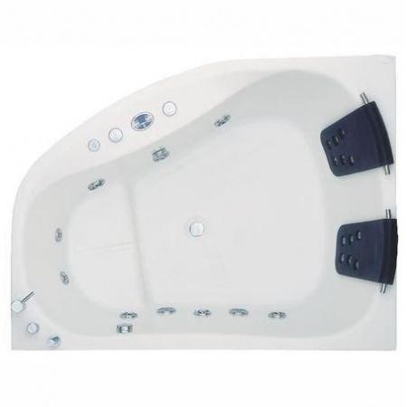 Victory Spa Creation Collection Mira Wanna narożna 170x125x70 cm z systemem 1 Soft Massage, biała NVS.700.910.01.1