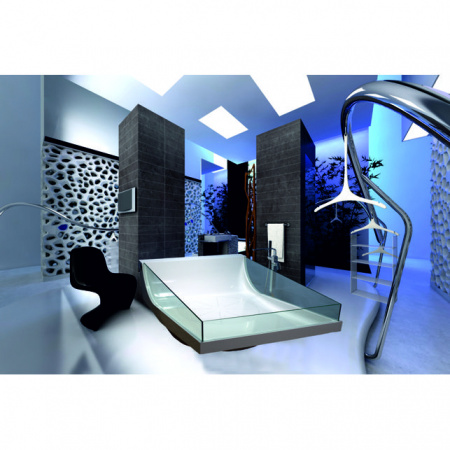Victory Spa Milano Wanna wolnostojąca 190x125x70 cm z systemem 4 Maxi Massage, biała NVS.B30.910.04.1