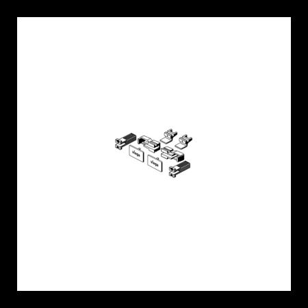 Viega Advantix Vario Zestaw wyposażeniowy do odpływu ściennego, czarny 4967.86 / 736 620