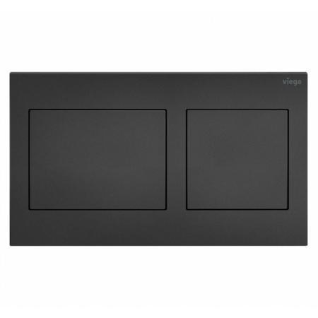 Viega Prevista Visign for Style 21 Przycisk spłukujący WC czarny mat 801724