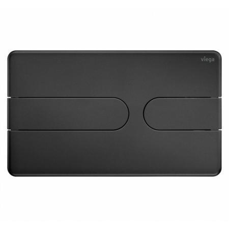 Viega Prevista Visign for Style 23 Przycisk spłukujący WC czarny mat 801731
