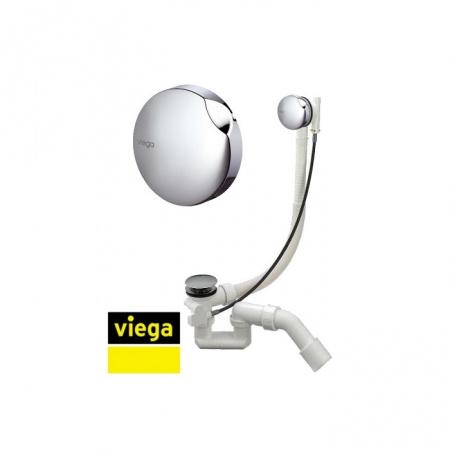 Viega Simplex Syfon wannowy - armatura odpływowo-przelewowa do wanny, chrom V61684PL/495121