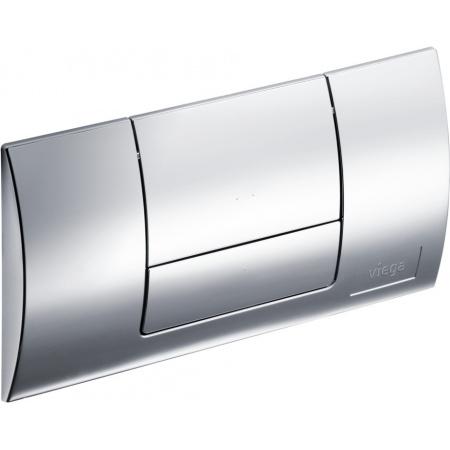 Viega Standard Płytka uruchamiająca do WC, chrom 8180.1 / 449 018