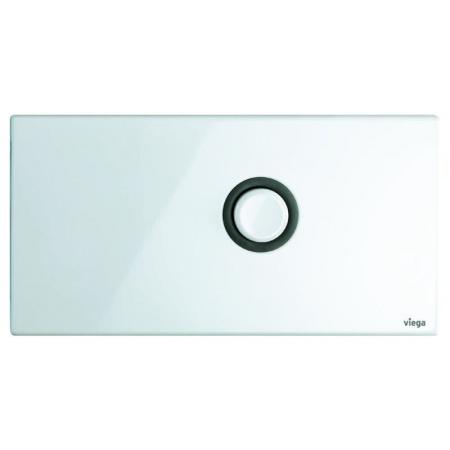 Viega Visign for Public 1 Płytka uruchamiająca do WC, stalowy biały alpejski 8326.1 / 671 846