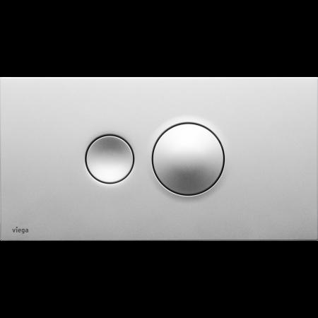 Viega Visign for Style 10 Płytka uruchamiająca do WC, szlachetny matowy 8315.1 / 596 347