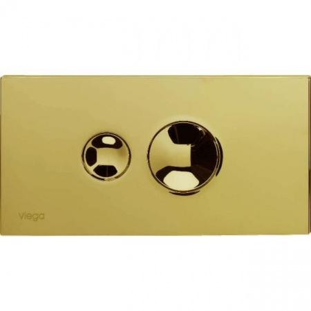 Viega Visign for Style 10 Płytka uruchamiająca do WC, złocony 8315.1 / 597 092