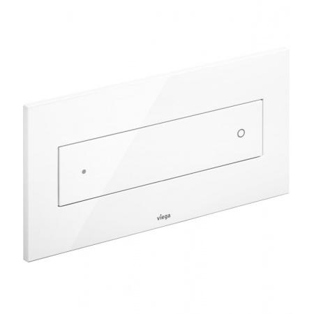 Viega Visign for Style 12 Przycisk spłukujący WC, biały alpejski 8332.1 / 596 743